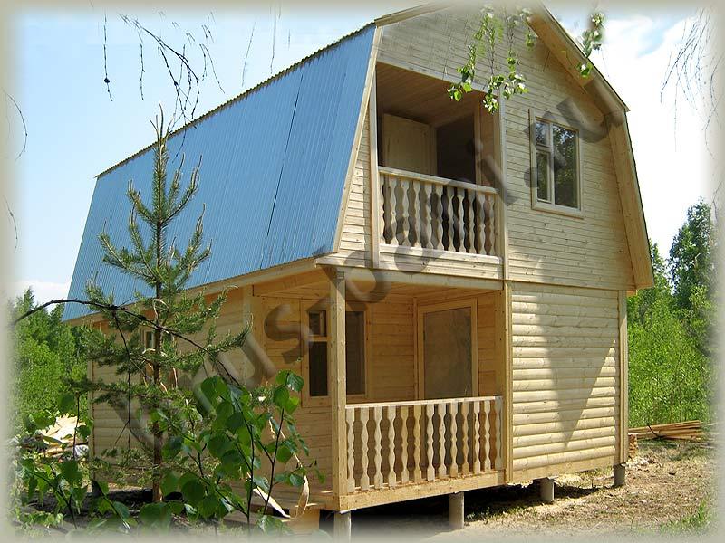 Как сохранить деревянный дом от гниения?