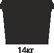 14 кг