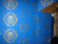 Внутренняя отделка. Краска базовая синяя 817.