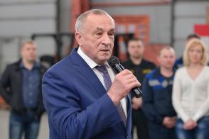 14 апреля 2015 года глава Удмуртии Александр Соловьев посетил компанию ООО «Новый дом»