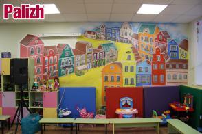 Открытие детской комнаты в Туберкулезном диспансере г.Ижевска