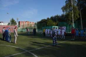 18 августа 2016г. состоялся футбольный матч между воспитанниками ИВК (Ижевская воспитательная колония) и представителями Правительства Удмуртии