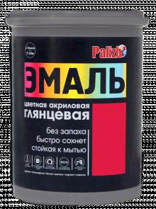 Эмаль цветная универсальная акриловая Palizh
