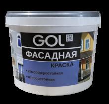 Краска акриловая фасадная GOL ВД-АК-1180