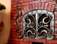 Краска для печей и каминов (красно-коричневая)