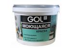 Краска акриловая для стен моющаяся GOL ВД-АК-1180