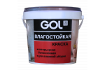 Краска акриловая влагостойкая GOL ВД-АК-2180